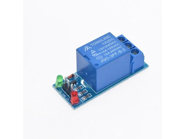 10PCS 12V low level trigger One 1 Channel Relay Module interface Board Shield For PIC AVR DSP ARM MCU Arduino