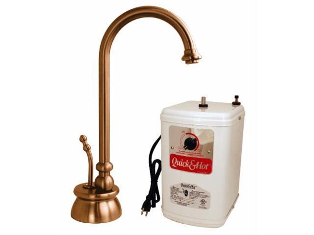 Calorah Traditional 10 in. Hot Water Dispenser and Tank in Antique Copper