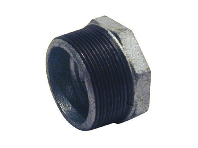 B & K/Mueller Inds(Import) 511-986HN Pipe Fittings, Galvanized Hex Bushing, 2 x 1-1/4-In. - Quantity 5