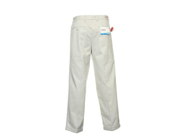 Izod Ivory Pleated Pants-Newegg.com