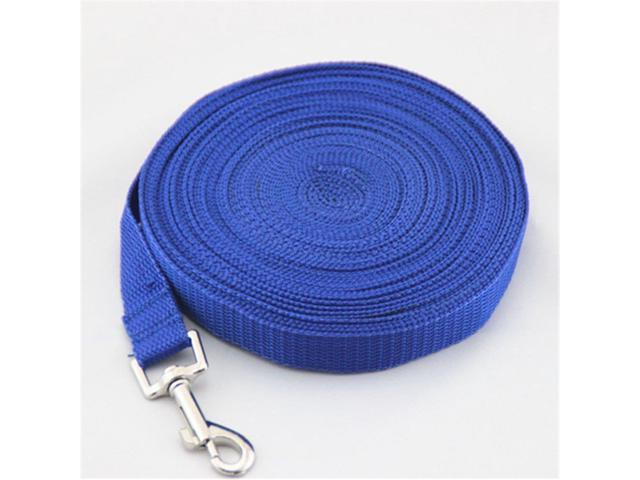 Size:15M  |  Color:Blue  Type: Dogs Material: Nylon Feature: Personalized,Long dog rope Season: All Seasons Pattern: Solid Collar Type: Dog leash