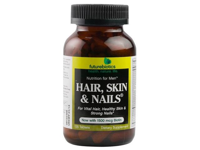 Hair,Skin & Nails-Men - Futurebiotics - 135 - Tablet