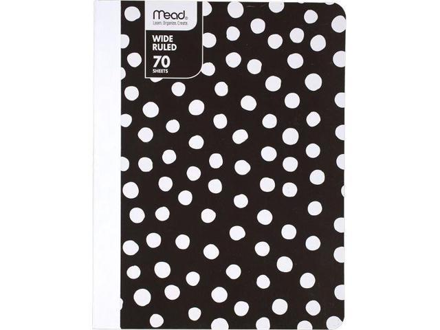 Mead Commodity Fashion Wide Ruled Composition Notebook - Mead Notebooks