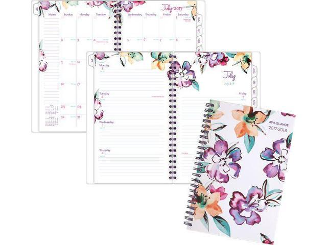At-A-Glance June Academic Weekly-Monthly Planner - Fashion Planners