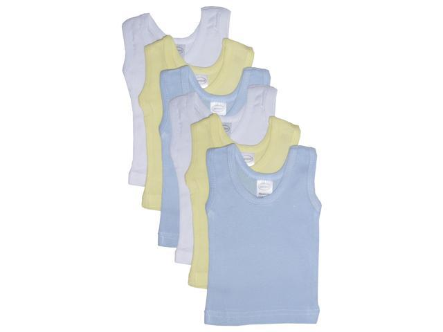 Bambini Boy's Six Pack Pastel Tank Top