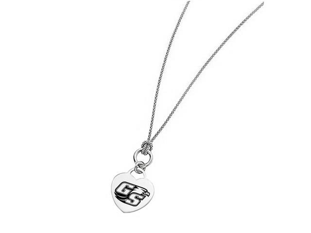 Georgia Southern Eagles Heart Necklace