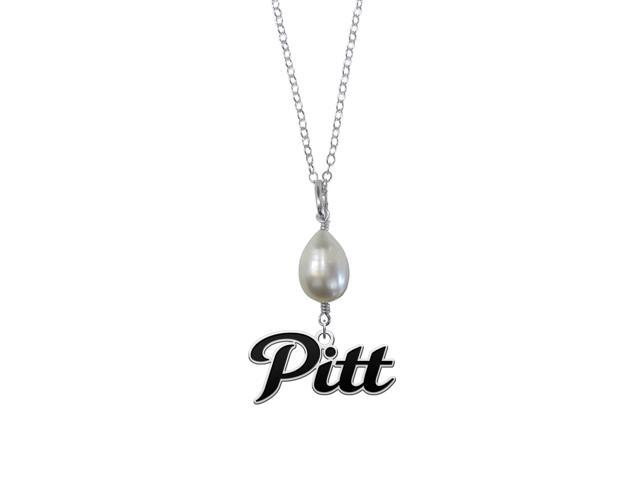 Pittsburg State Gorillas Pearl Drop Necklace