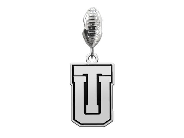 Tulsa Golden Hurricane Football Dangle Charm