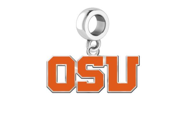 Oregon State Beavers Silver Logo and School Color 1/2