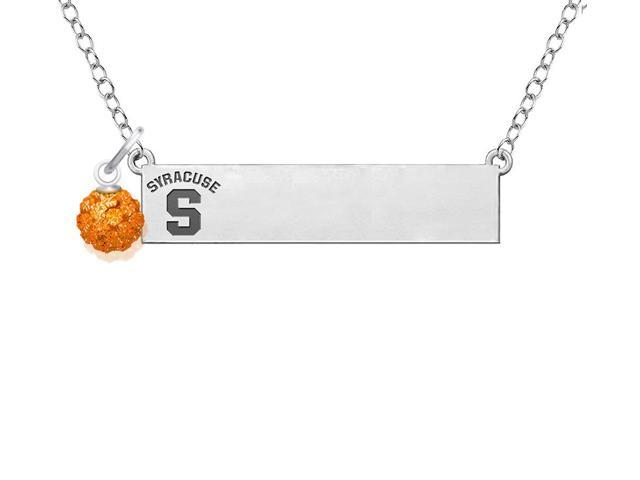Syracuse Orange with Crystal Ball Accent