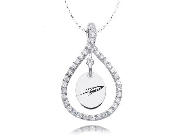 Toledo Rockets Figure 8 CZ Necklace