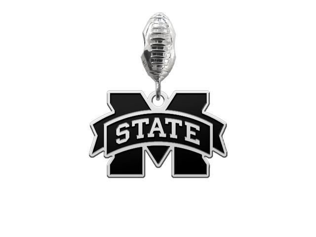 Mississippi State Bulldogs Football Dangle Charm