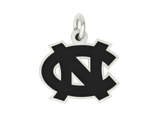 North Carolina Tar Heels Silver Logo Cut Out Charm Newegg