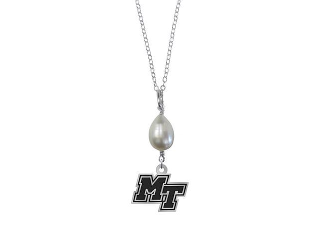Middle Tennessee State Blue Raiders Pearl Drop Necklace