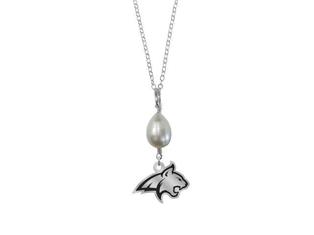 Montana State Bobcats Pearl Drop Necklace