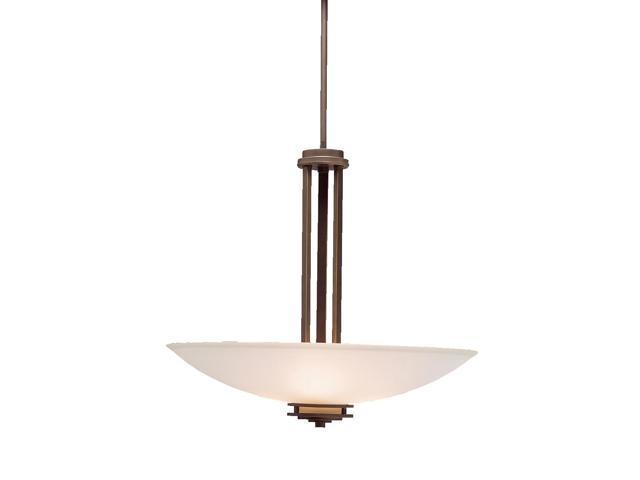 Kichler 3275OZ Three Light Inverted Pendant