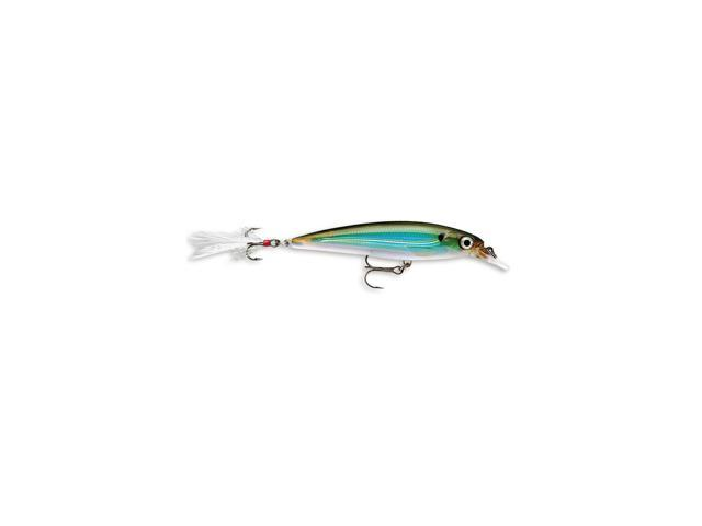 Rapala X-Rap XR08 Lures  Moss Back Shiner (MBS)