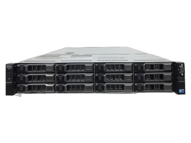 Dell Poweredge R510 Server 2 X 6C 2.4GHZ/12MB 128GB 12 X 146GB 15K H700 RPS