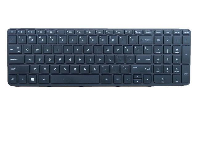 US Layout Laptop Keyboard for HP Pavilion 15-n207cl 15-n210dx 15-n212nr 15-n213ca 15-n213nr 15-n214nr 15-n215nr 15-n216us 15-n217nr 15-n218nr 15-n219nr Black With Frame Notebook US UI layout