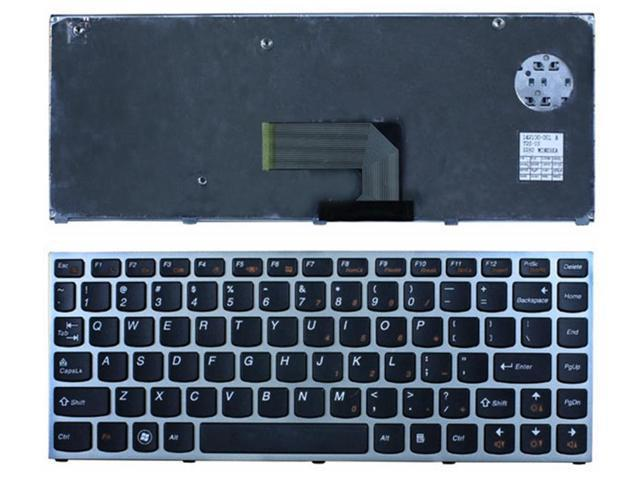 Laptop Keyboard with Silver Frame for LENOVO IdeaPad U460 U460A US keyboard