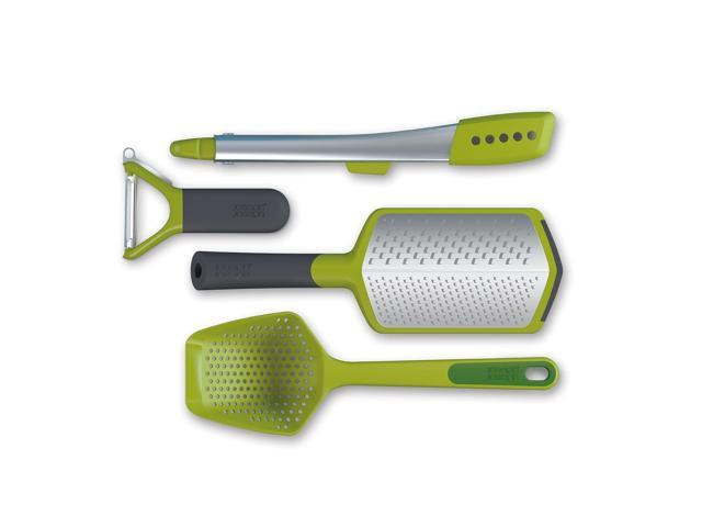 Joseph Joseph Foodie 4-Piece Gadget Utensil Set Green