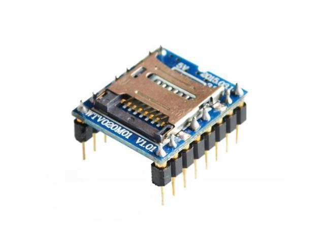 Arduino library for WTV020-SD-16P audio module