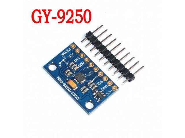 5pcs/lot MPU-9250 GY-9250 9-axis sensor module I2C/SPI Communications Thriaxis gyroscope + accelerometer+triaxial magnetic field