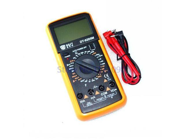 Digital Multimeter Electrical Meter EXCEL DT9205M DT-9205M