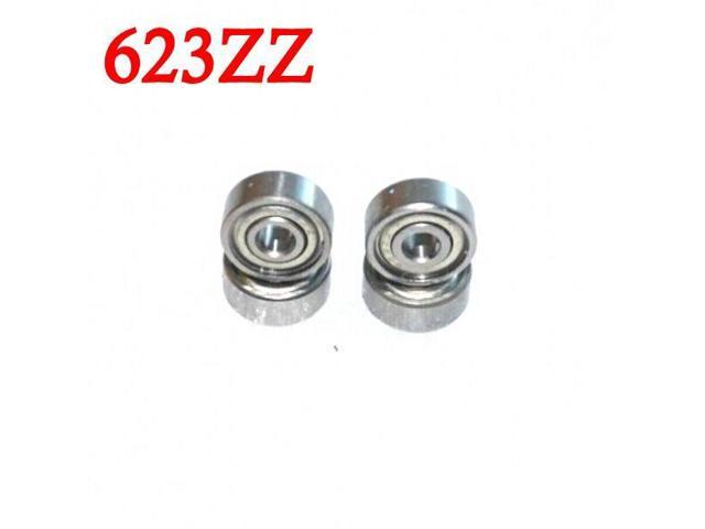 50pcs/lot 623ZZ bearing 623-ZZ 3x10x4 Miniature deep groove ball-bearing 623 2Z ZZ bearing 623Z