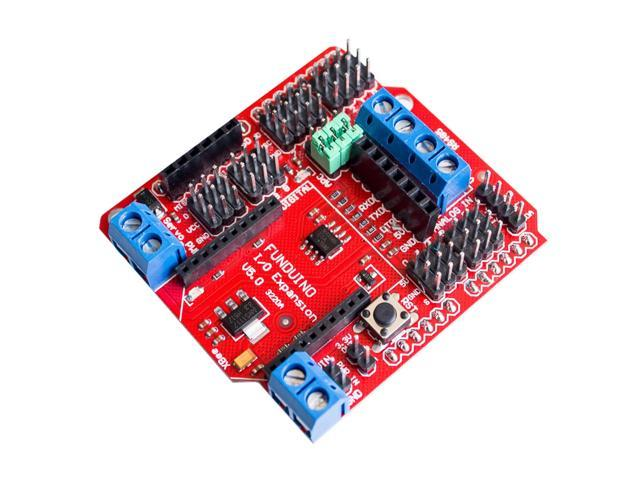 ! 2pcs/lot Xbee sensor shield V5with RS485 and BLUEBEE Bluetooth interface forarduino