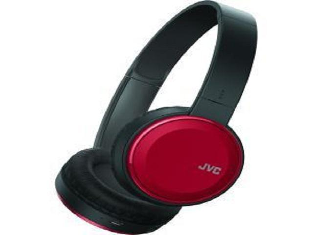 JVC HAS190BTR Colorful Bluetooth(R) Headphones (Red)