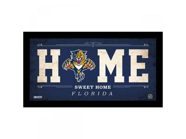 Florida Panthers 10x20 Home Sweet Home Sign