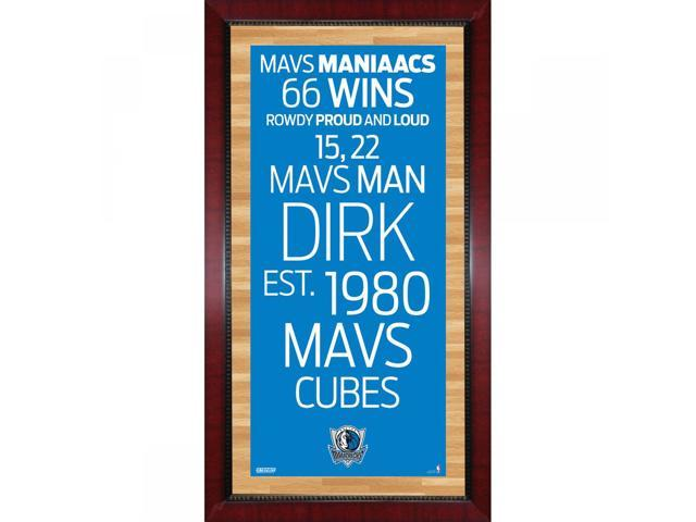 Dallas Mavericks Subway Sign Wall Art 16x32 Photo