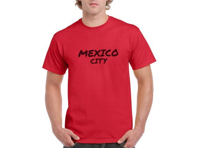 Mexico City Men's Red T-shirt