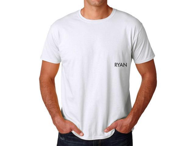 Ryan  Your Name Men's White T-shirt