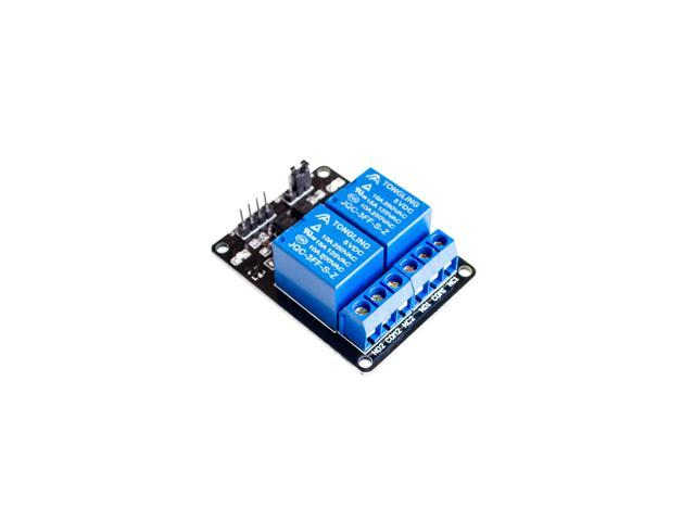 2015 est Upgrade 5V two/2-Channel Relay Module Shield For Arduino ARM PIC AVR DSP Electronic 10A raspberry Pi relay Shield
