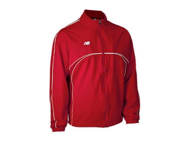 New Balance Men's Warm Up Jacket Red XL