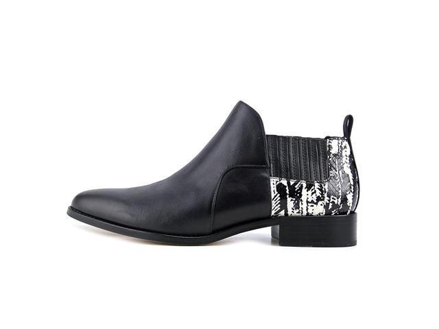 Womens Fela Closed Toe Ankle Fashion Boots