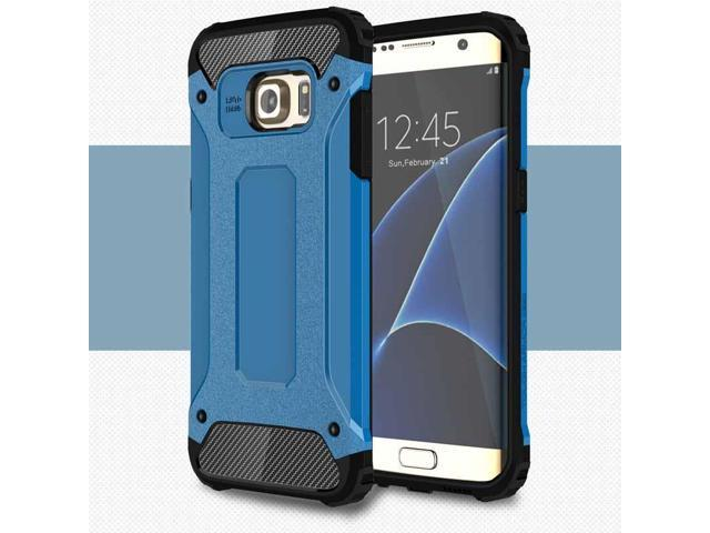 Fashion PU+PC Armor Dual Protection Dirt/Shockproof  Back Case Cover for iPhone 5 5S SE 6 6S 6Plus 6SPlus 7 7Plus and Samsung Galaxy S7 S7Edge S8 S8Plus Smartphone
