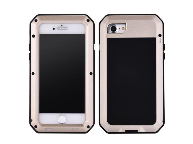 backup iphone photos luxury doom armor dirt shock waterproof metal aluminum 7550