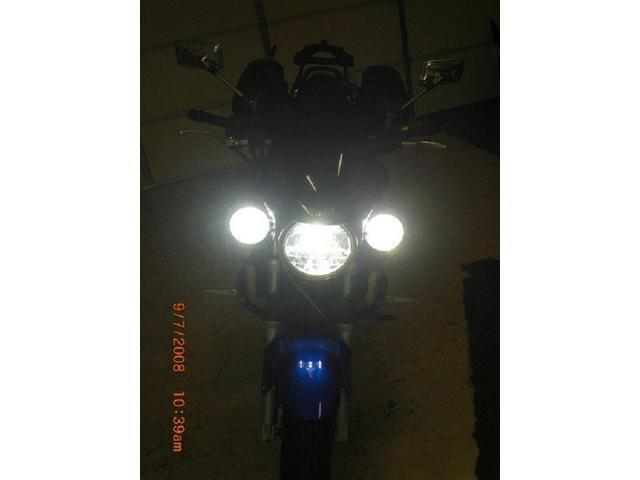 Suzuki SV650 SV1000 Halo Driving Lights Fog Lamps Angel Eye