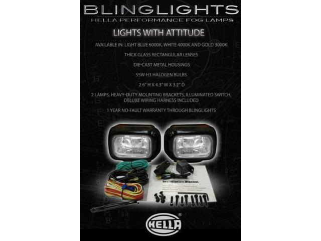 1996 1997 1998 1999 Mercedes-Benz E320 Fog Lights Driving Lamps Foglamps Kit E 320 e-class w210