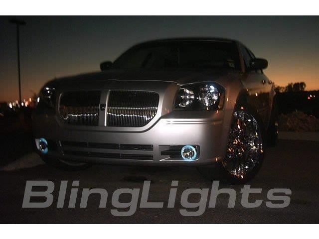 2005-2008 Dodge Magnum Halo Fog Lamp Driving Light Kit Angel Eyes