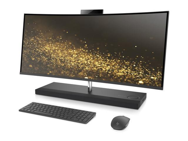"HP Envy 34 Curved 34"" WQHD All In One PC, Intel Quad Core i7-7700T 2.9GHz, 16GB DDR4 Ram Memory, 256GB SSD + 2TB Hard Drive, 4GB Graphics, WiFi, Bluetooth, Windows 10"