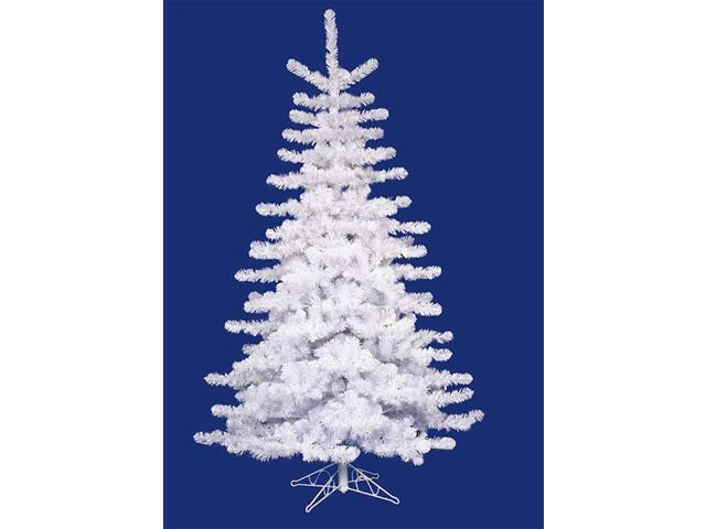 14' Crystal White Medium Artificial Christmas Tree - Unlit