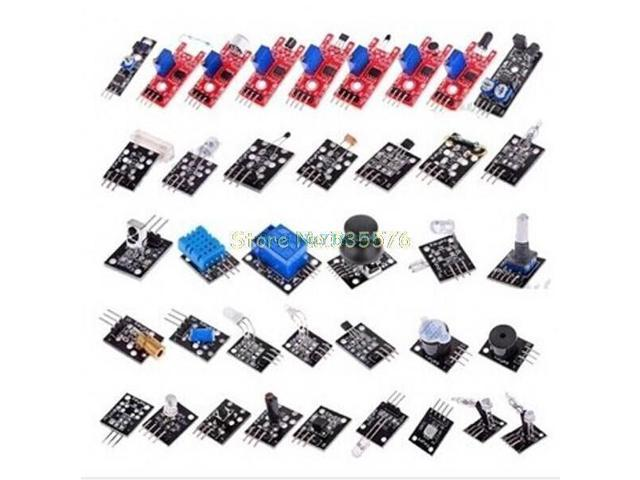 SuperiParts 37 in 1 Sensor Kit For Arduino Starters keyes brand
