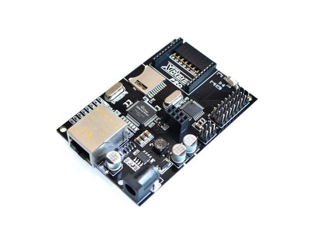 SuperiParts IBOARD W5100 Ethernet Module Development Board with POE / Xbee and SD Card Slot Expansion