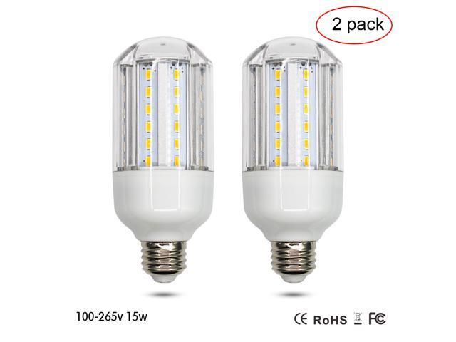 Bathroom Lighting Color Temperature sunta led corn light 15w light bulb e26 socket 1500lm bright white