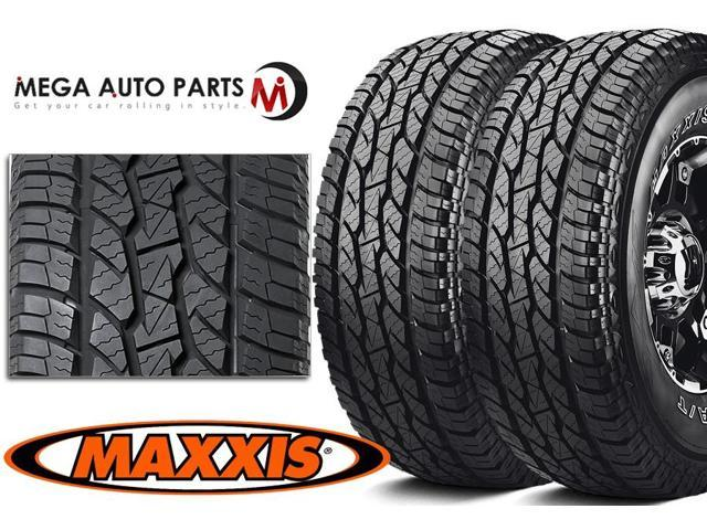 2 X New Maxxis Bravo AT-771 LT275/65R18 123/120S E/10 Premium All Terrain Tires