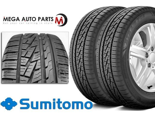 2 X New Sumitomo HTR A/S P02 235/65/18 106H BW All Season High Performance Tires